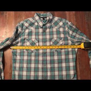 Banana Republic Men Large Long Sleeve Casual Shirt